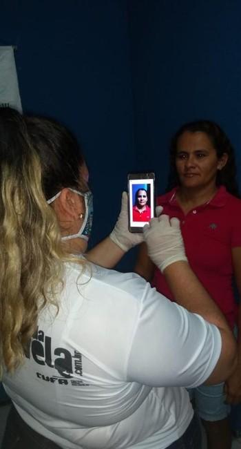 Cufa: doações são feitas mediantes a reconhecimento facial