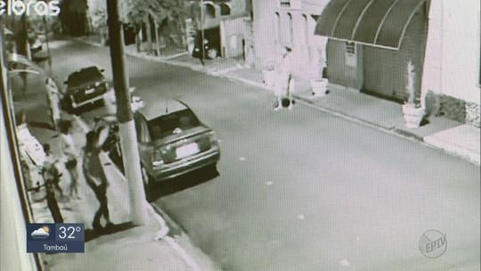 VÍDEO: câmera mostra momento em que policial atira em suspeito de ameaçar família com facão