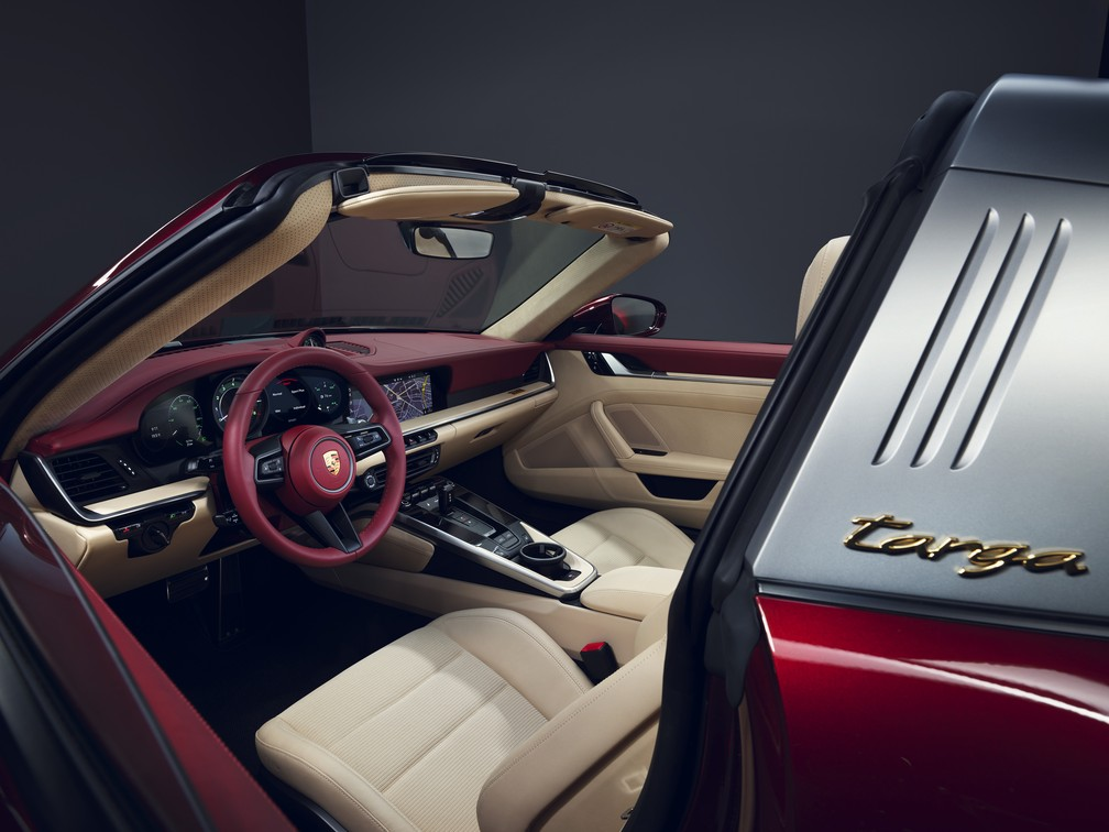Porsche 911 Heritage Design Edition — Foto: Divulgação
