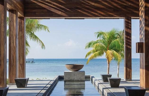Espaço comum do resort (Foto: Reprodução/Instagram)