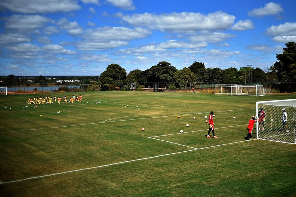 Centro de treinamento do Brasiliense em 2016, em imagem de arquivo — Foto: Andre Borges/Agência Brasília.