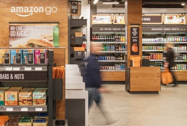 Amazon Go, em Seattle (Foto: Divulgação)