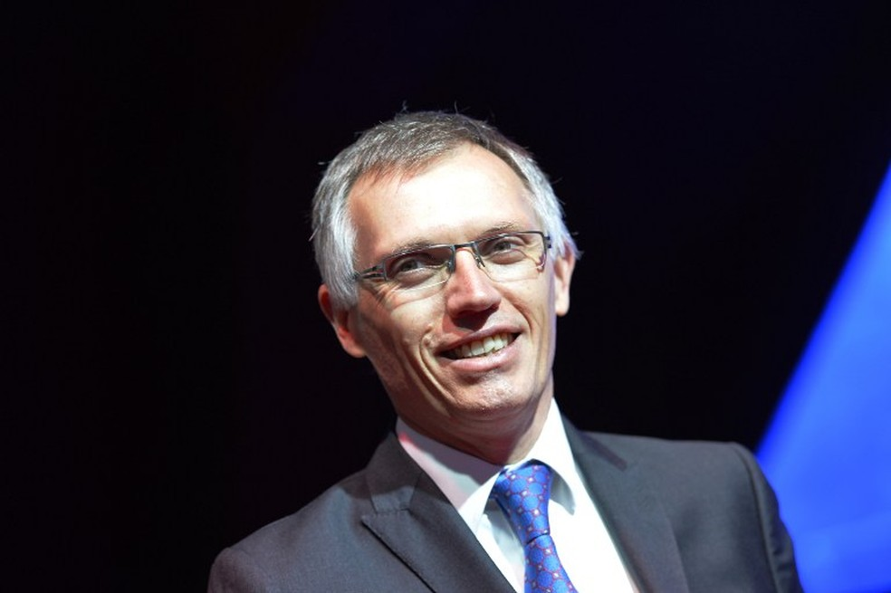 Carlos Tavares, CEO do novo grupo formado entre PSA e FCA — Foto: AFP