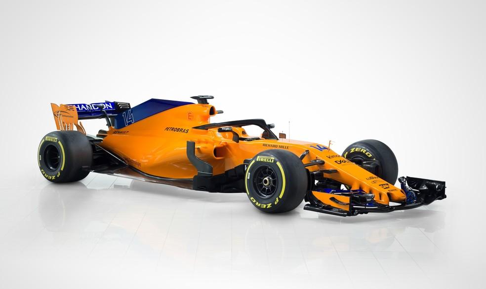 Novo McLaren-Renault MCL33 irá à pista nesta sexta, no norte da Espanha (Foto: Divulgação/McLaren)