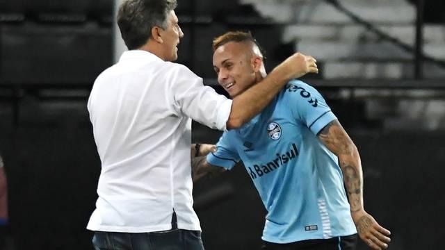 Fluminense x Grêmio Everton gol