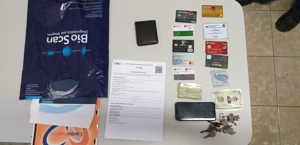 Funcionário de uma empresa terceirizada, que presta serviços à CSP, foi preso no local de trabalho. — Foto: Reprodução