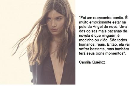 Camila Queiroz voltará a viver a protagonista, Angel Reprodução
