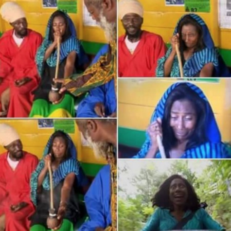 A visita de Gloria Maria à Jamaica gerou memes (Foto: Reprodução)