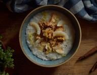 Aprenda a preparar arroz doce com leite de coco em apenas três passos