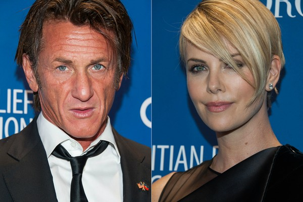 Sean Penn e Charlize Theron (Foto: Getty Images)