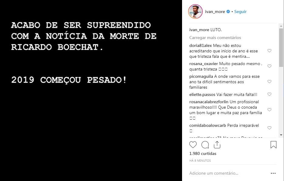 Ivan More (Foto: Reprodução Instagram)