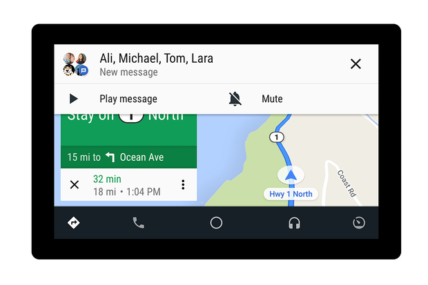 Divulgação (Foto: Google anuncia melhorias para o Android Auto)