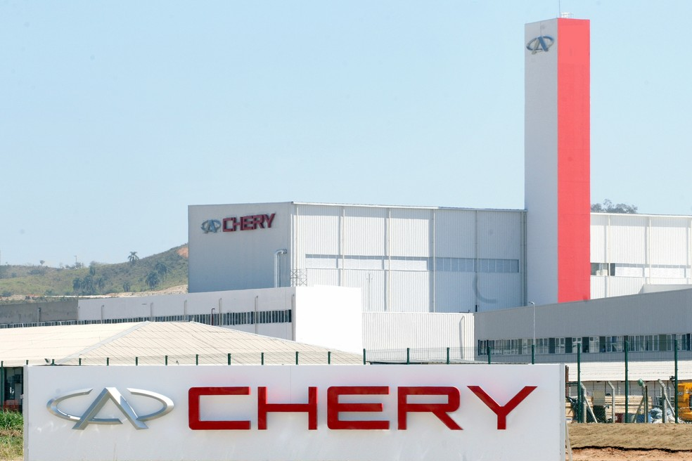 Quase 50 funcionários da montadora Caoa Chery foram levados para hospital por passarem mal após o almoço — Foto: Divulgação/Chery