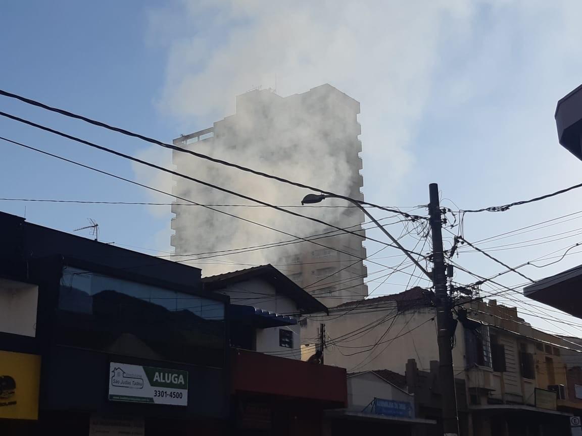 Incêndio atinge loja de tecidos no Centro de Piracicaba  - Noticias