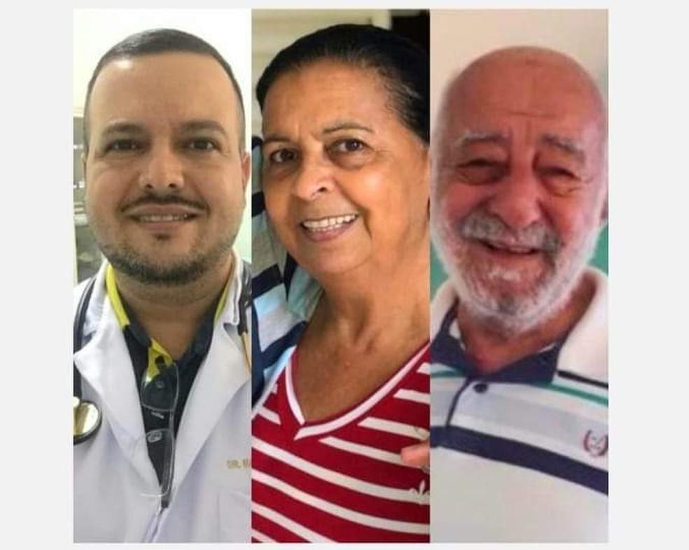 Mãe e filho médico morrem no mesmo dia por Covid-19 em Cuiabá; avô morreu 2 dias antes — Foto: Arquivo pessoal