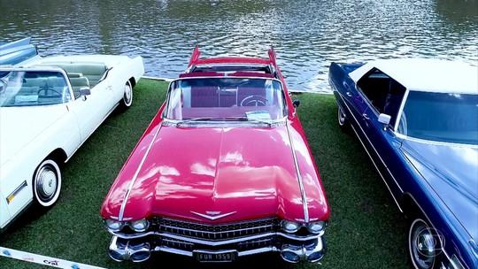 Veja histórias de carros clássicos no encontro de Águas de Lindoia