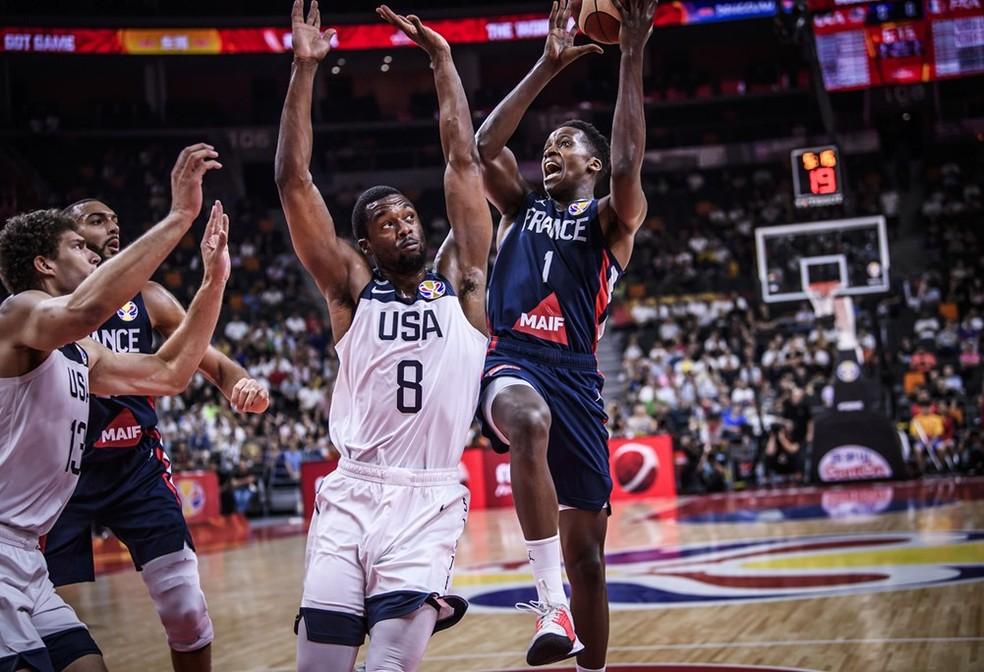 EUA x França fizeram um jogaço na Copa do Mundo de Basquete  â?? Foto: Divulgação