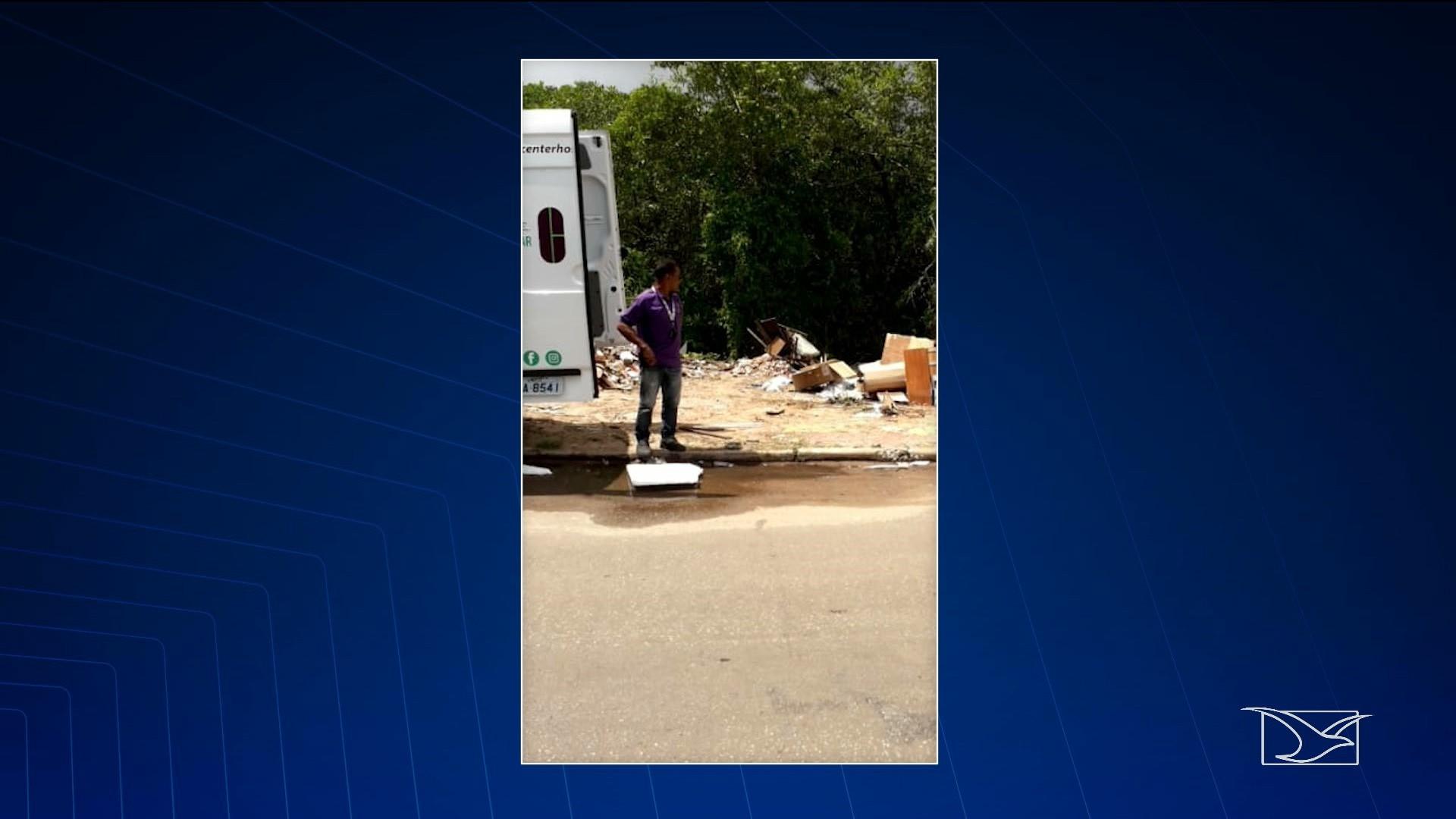 Vídeos e fotos são usados para denunciar descarte irregular de lixo em São Luís - Notícias - Plantão Diário