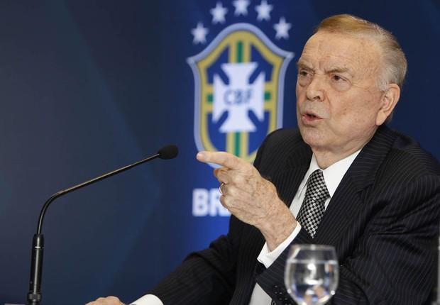 José Maria Marin, presidente da CBF (Foto: Rafael Neves / CBF)