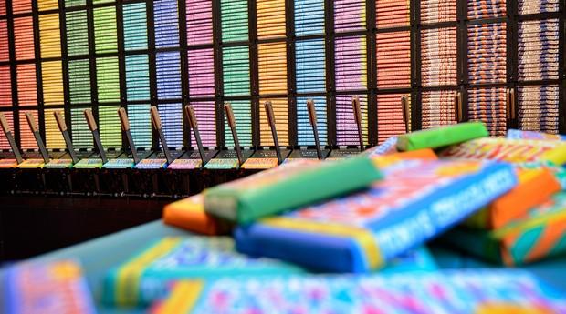 A Tony Chocolonely tem sabores variados de chocolate (Foto: Divulgação)