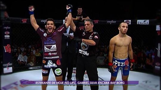O inabalável Gabriel Silva: atleta estreia no UFC sob lição de superação após drama na infância