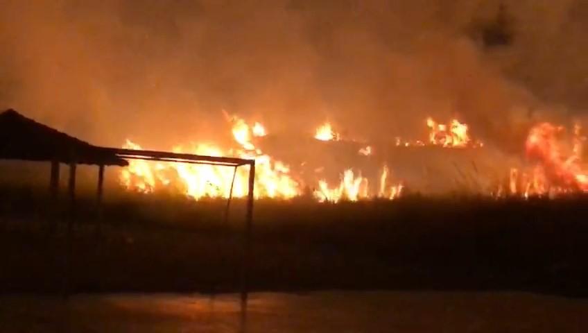 Incêndio destrói 10 hectares de vegetação em Patrocínio; veja vídeo