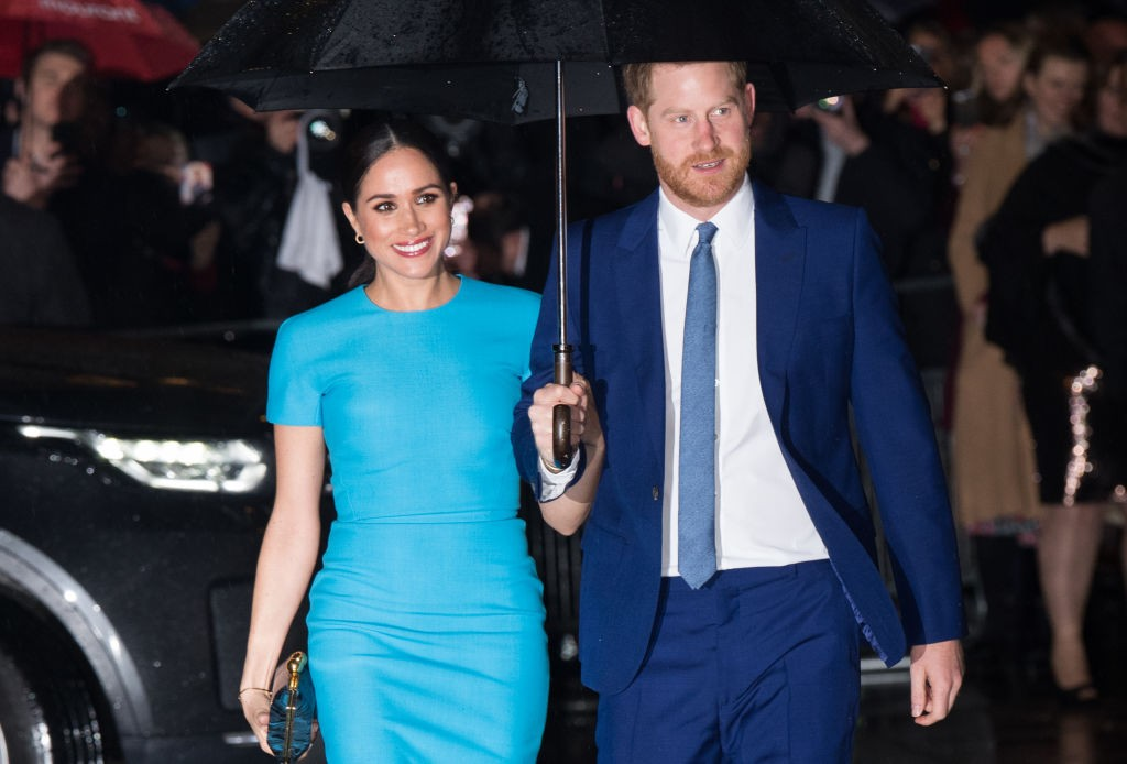 Meghan Markle e Príncipe Harry (Foto: Samir Hussein/ Getty Images)
