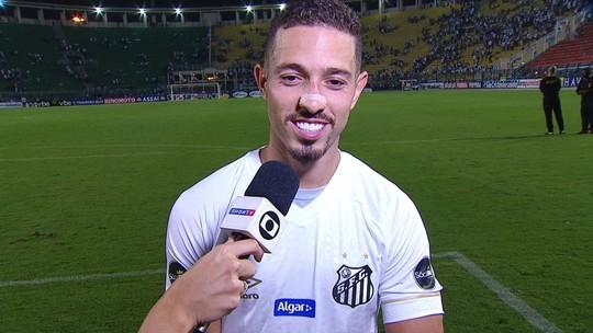 """Artilheiro do Paulistão, destaque do Santos decide vitória e vira """"Jean Lionel Mota"""""""