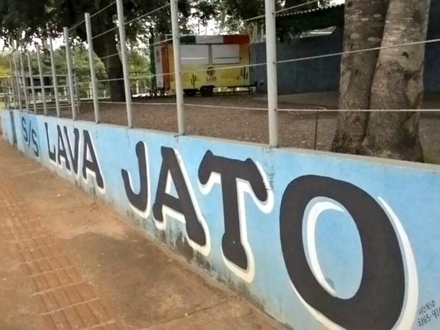 Crime foi em lava jato da capital de MS (Foto: Flávia Galdiole/ TV Morena)