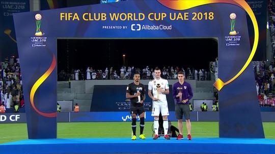 Bale é eleito o melhor jogador do Mundial, e brasileiro Caio fica com o segundo lugar