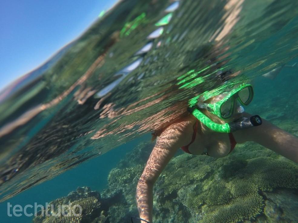 Aquário e outras concentrações de água absorvem sinal Wi-Fi — Foto: Juliana Pixinine/TechTudo
