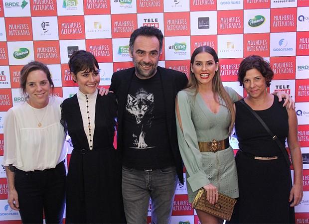 Elenco do filme  Mulheres Alteradas (Foto: allace Barbosa/AgNews)