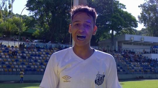 Gol do Santos! Wesley Pinheiro cobra pênalti e empata, aos 21' do 2ºT