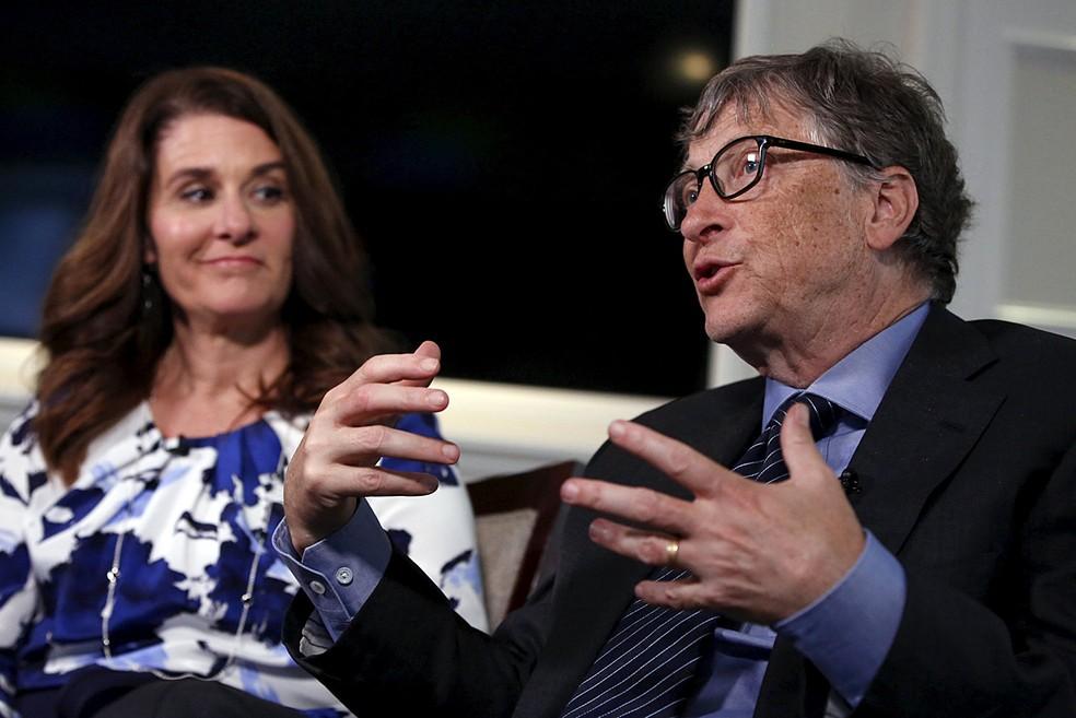 -  Bill e Melinda Gates concedem entrevista em Nova York  Foto: Shannon Stapleton