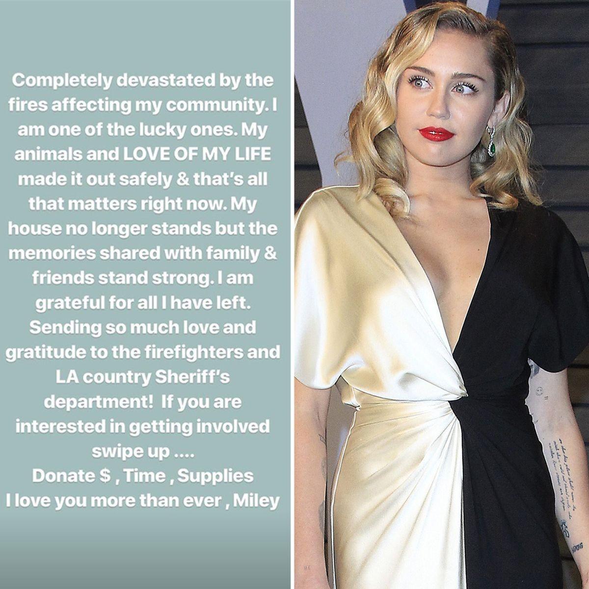 Miley Cyrus (Foto: Reprodução Instagram)