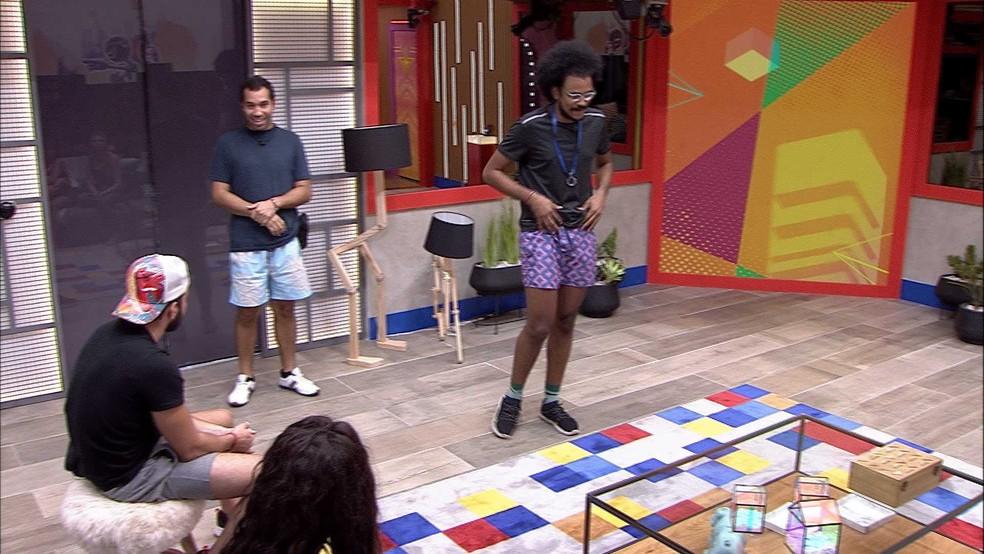 João Luiz escolhe Pocah e Arthur para Castigo do Monstro — Foto: Globo