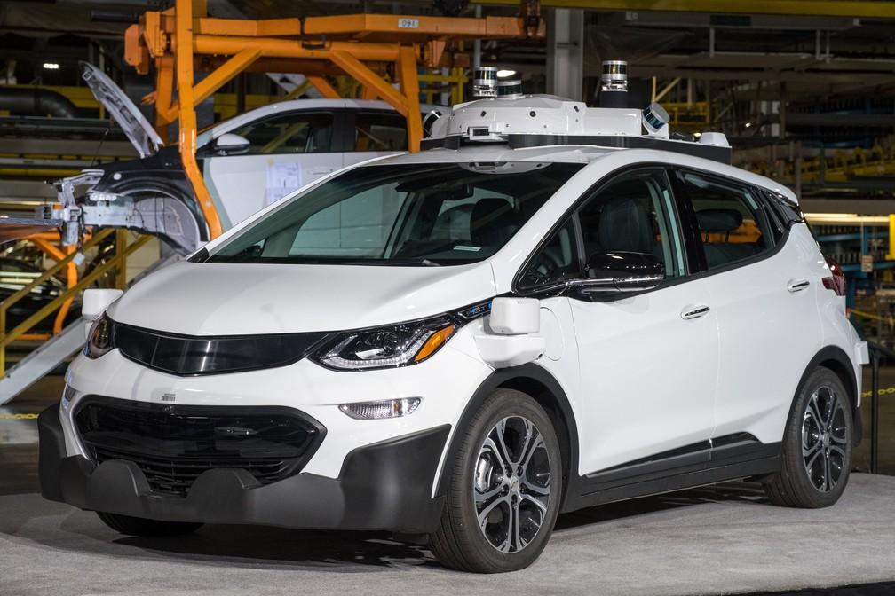Veículo autônomo da GM (Foto: Divulgação)