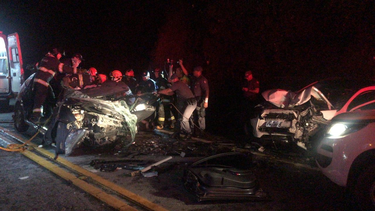Acidente deixa um morto e dois feridos na rodovia Rio-Santos em São Sebastião