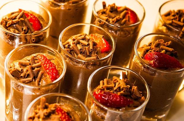 Receita: Mousse de chocolate com cachaça (Foto: Divulgação)