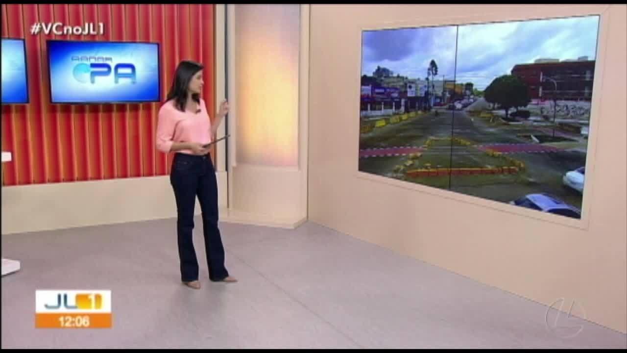 Quadro 'Radar' mostra o trânsito em Belém nesta quarta, 30