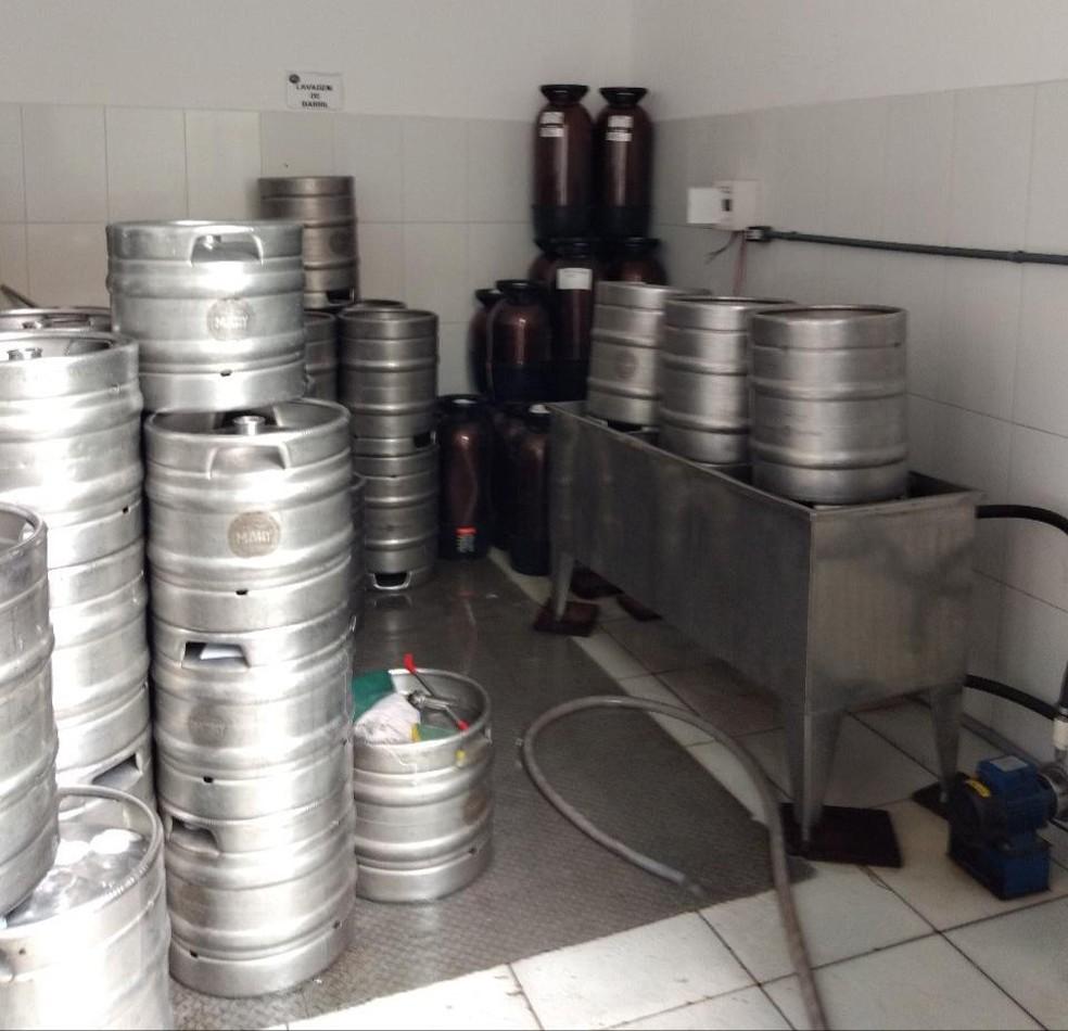 Vigilância sanitária também encontrou outras irregularidades na fábrica — Foto: Divulgação/Visa Manaus