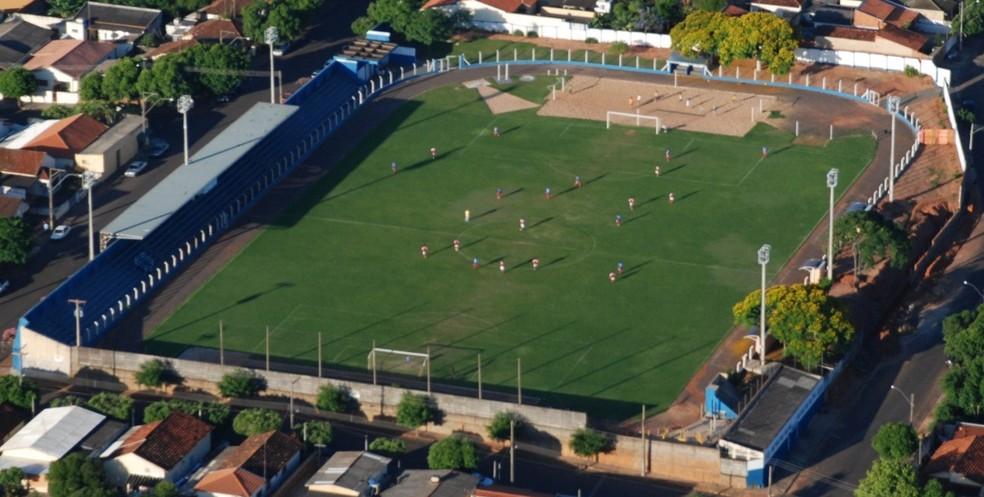 """Em 1981, Estádio Antônio Goulart Marmo foi palco de """"gol raro"""" — Foto: Ronaldo Dutra / Cedida"""