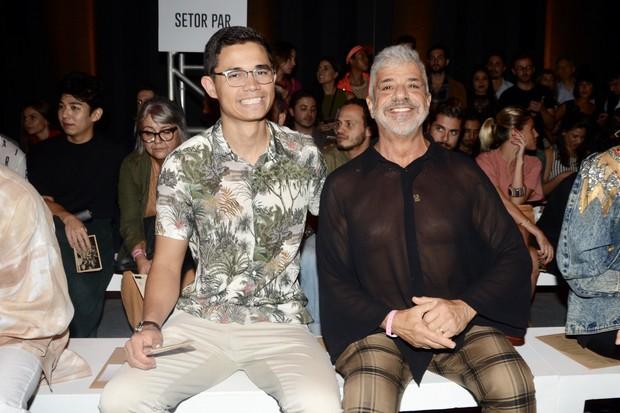 Lulu Santos e Clebson Teixeira (Foto: Eduardo Martins / AGNEWS)