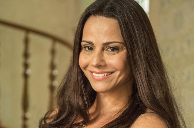 Viviane Araujo está no ar na reprise de 'Império' (Foto: Divulgação)