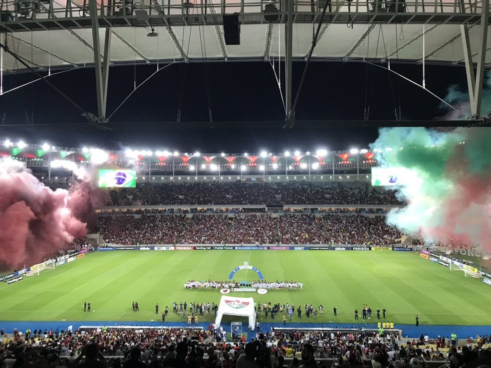 Fluminense x Flamengo, Maracanã — Foto: Cahê Mota/GloboEsporte.com