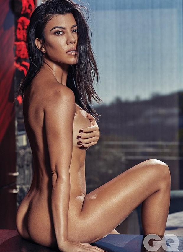 Kourtney Kardashian (Foto: Michael Schwartz/GQ México)