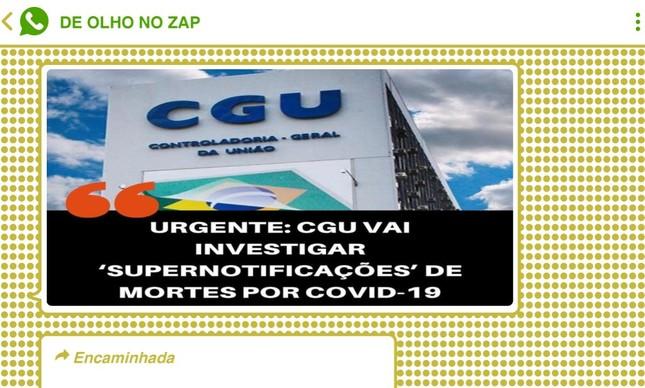 Declaração do presidente sobre investigação da CGU inflamou ainda mais grupos bolsonaristas no WhatsApp e no Telegram