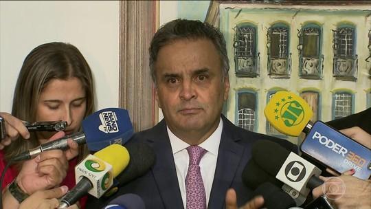 STF decide nesta terça se torna Aécio Neves réu por corrupção e obstrução de Justiça