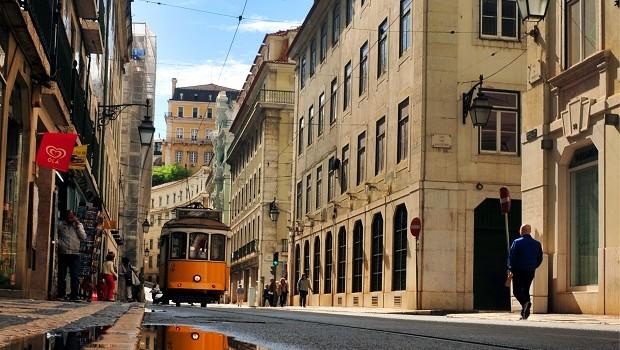Ruas de Lisboa, Portugal (Foto: Agliberto Lima)