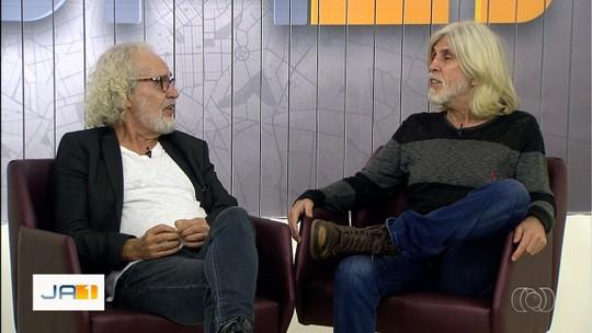 Cantores Renato Teixeira e Oswaldo Montenegro fazem show em Goiânia